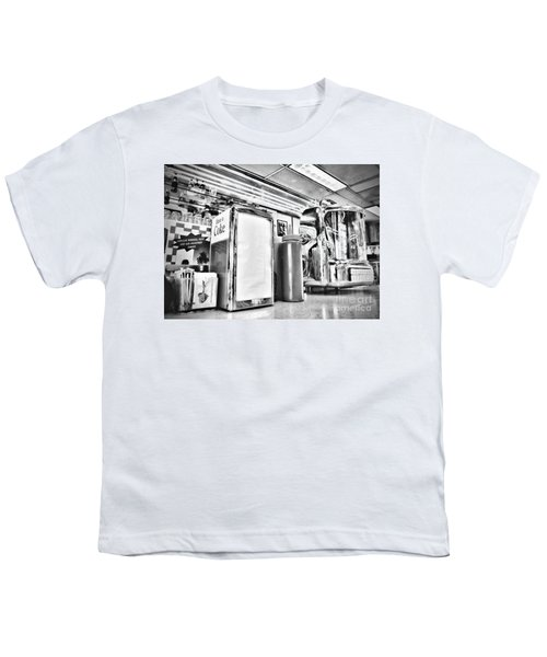 Sitting At The Counter Youth T-Shirt