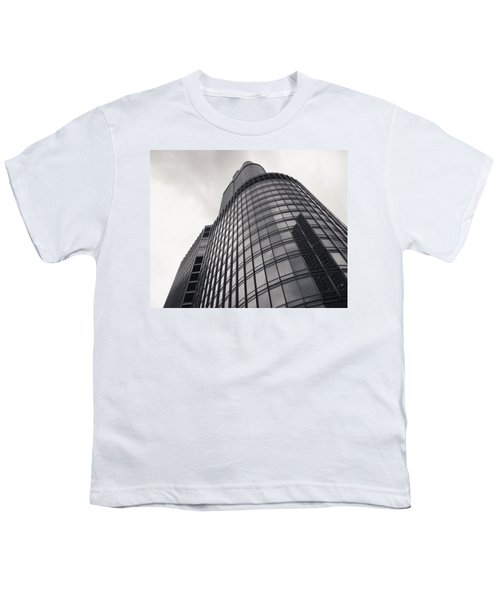 Trump Tower Chicago Youth T-Shirt by Adam Romanowicz