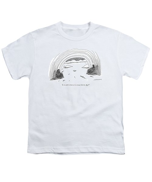Is It Cold In Here Or Is It Just The Ice Age? Youth T-Shirt