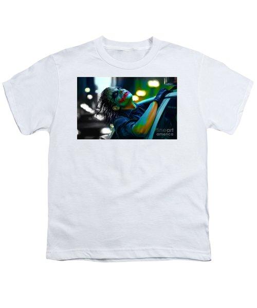 Heath Ledger Youth T-Shirt by Marvin Blaine