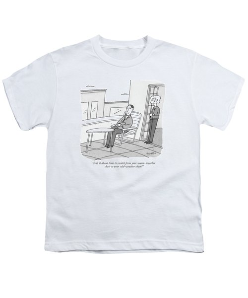 Isn't It About Time To Switch Youth T-Shirt