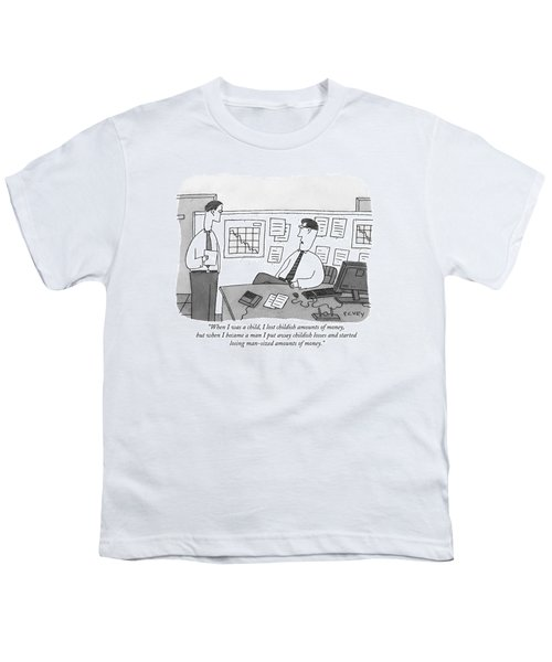 When I Was A Child Youth T-Shirt