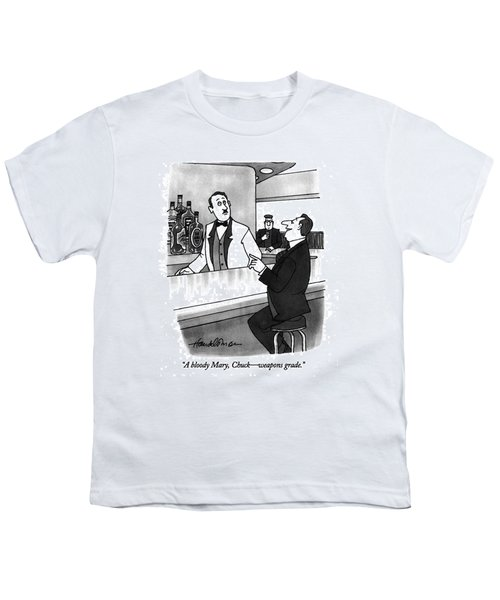A Bloody Mary Youth T-Shirt by J.B. Handelsman