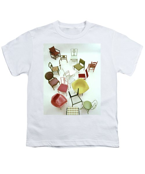 A Large Group Of Chairs Youth T-Shirt
