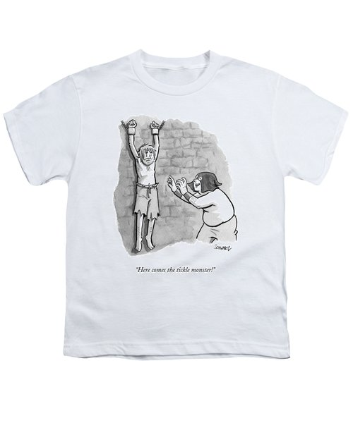 A Medieval Torturer Approaches A Hanging Youth T-Shirt