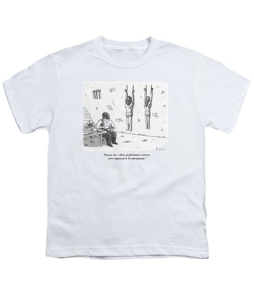A Prisoner In A Dungeon Speaks To A Torturer Who Youth T-Shirt