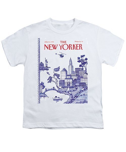 A View Of New York City Youth T-Shirt