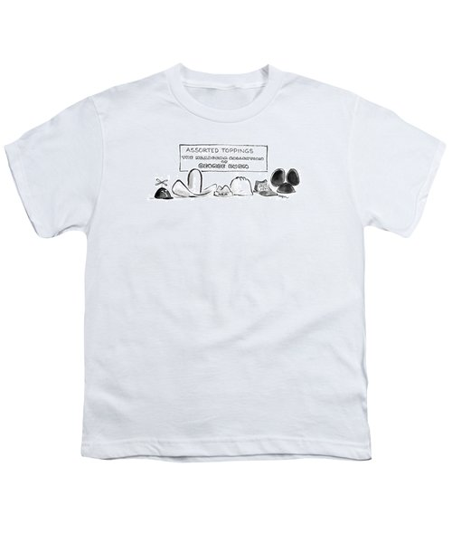 Assorted Toppings The Headgear Collection Youth T-Shirt