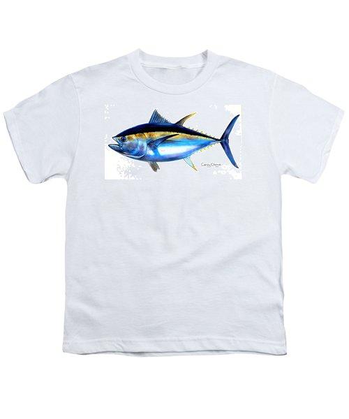 Big Eye Tuna Youth T-Shirt by Carey Chen