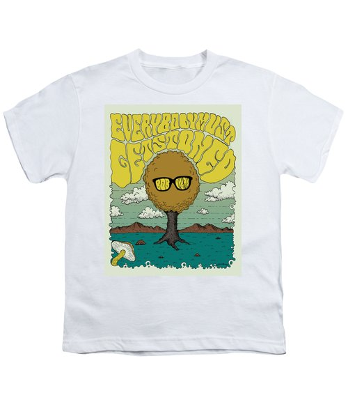 Bob Dylan - Everybody Must Get Stoned Youth T-Shirt by Geraldinez