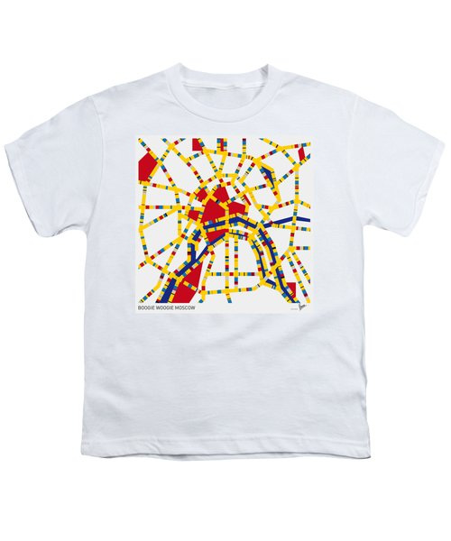 Boogie Woogie Moscow Youth T-Shirt by Chungkong Art