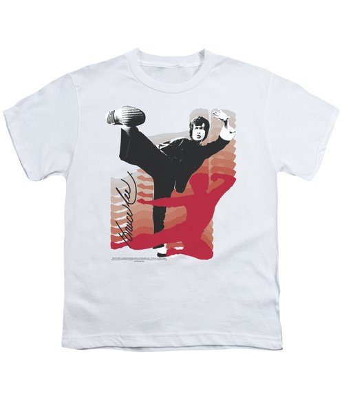 Bruce Lee - Kick It Youth T-Shirt