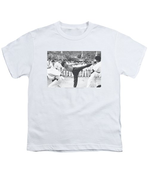 Bruce Lee - Kick To The Head Youth T-Shirt