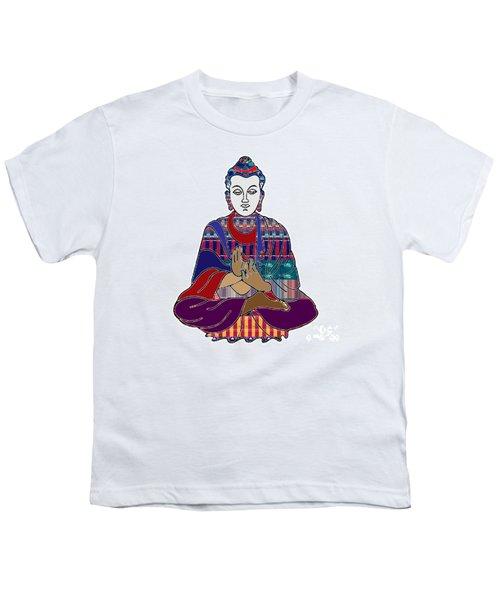 Buddha In Meditation Buddhism Master Teacher Spiritual Guru By Navinjoshi At Fineartamerica.com Youth T-Shirt