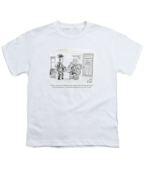By Jove, You've Got It! Unprofessional, Clingy Youth T-Shirt