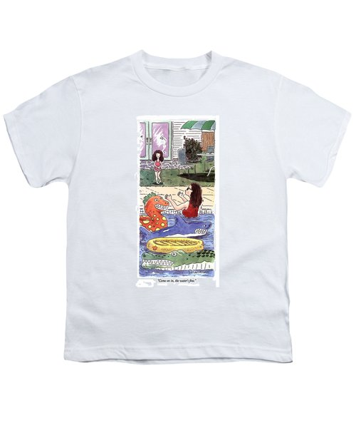 Come On In, The Water's Fine Youth T-Shirt