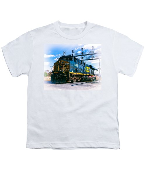 Csx 5292 Warner Street Crossing Youth T-Shirt