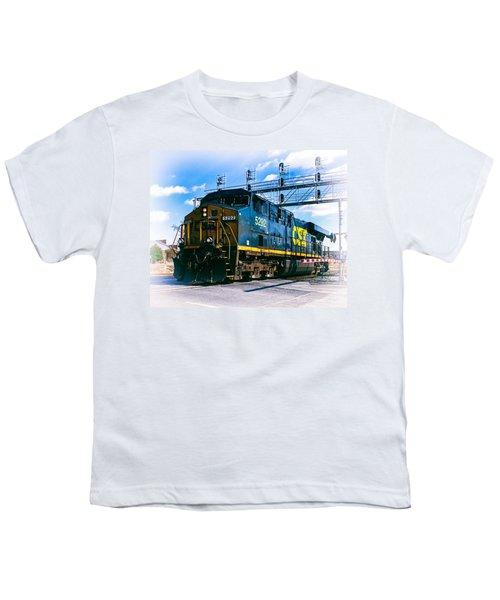 Csx 5292 Warner Street Crossing Youth T-Shirt