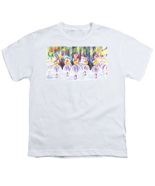 Dancers In The Forest II Youth T-Shirt by Kip DeVore
