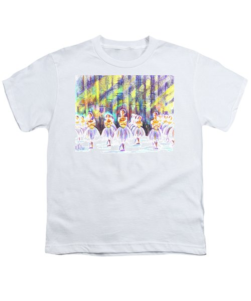 Dancers In The Forest Youth T-Shirt by Kip DeVore