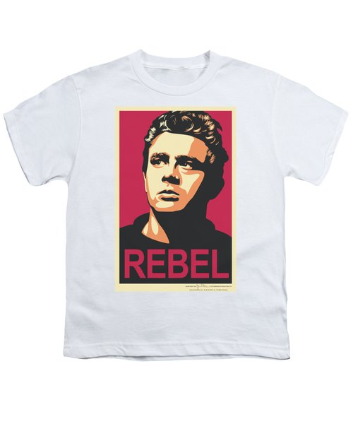 Dean - Rebel Campaign Youth T-Shirt by Brand A