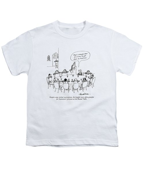 Despite Some Initial Reservations Youth T-Shirt