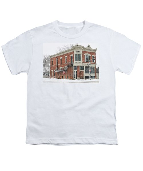 Downtown Whitehouse  7031 Youth T-Shirt by Jack Schultz