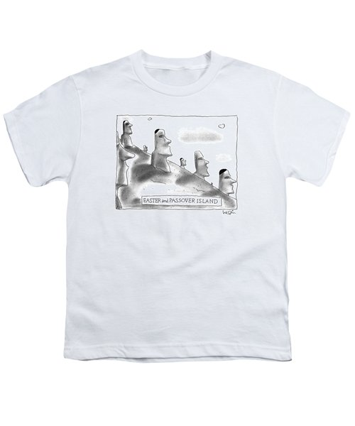 Easter And Passover Island Youth T-Shirt