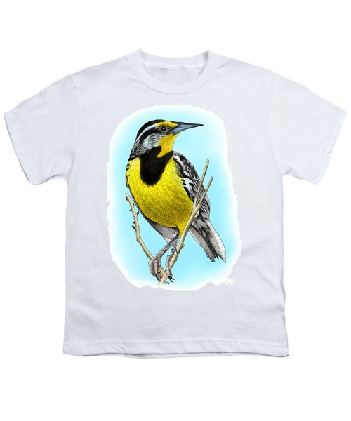 Eastern Meadowlark Youth T-Shirt