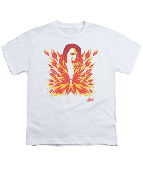 Elvis - His Latest Flame Youth T-Shirt