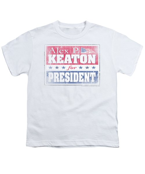 Family Ties - Alex For President Youth T-Shirt