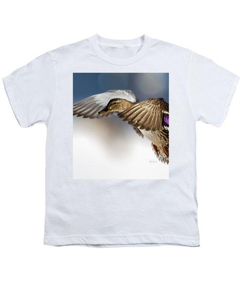 Flight Of The Mallard Youth T-Shirt
