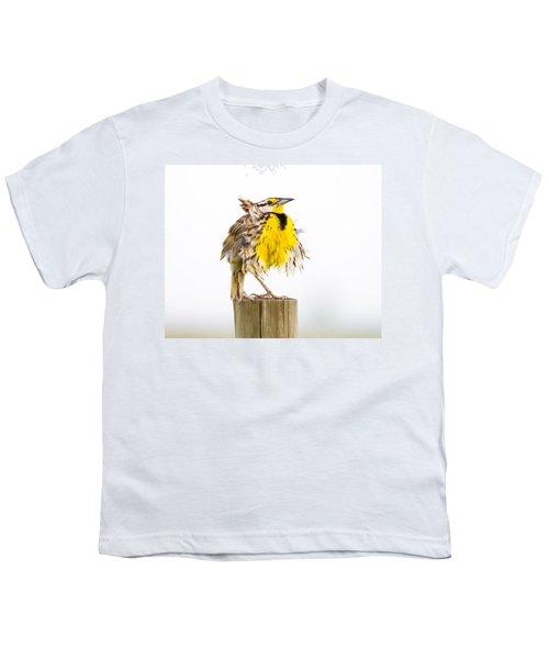 Flluffy Meadowlark Youth T-Shirt