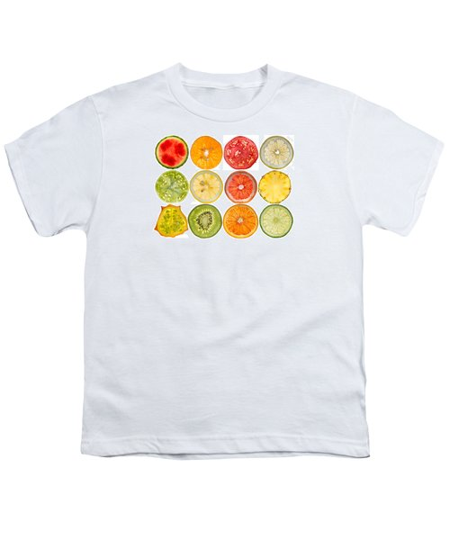 Fruit Market Youth T-Shirt by Steve Gadomski