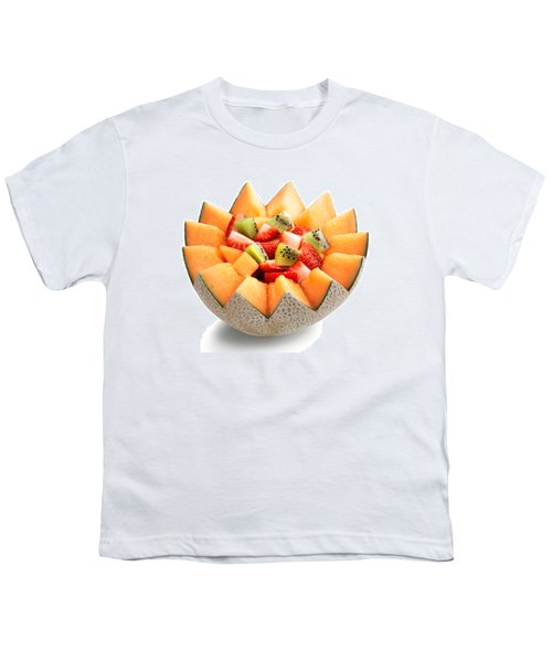 Fruit Salad Youth T-Shirt by Johan Swanepoel
