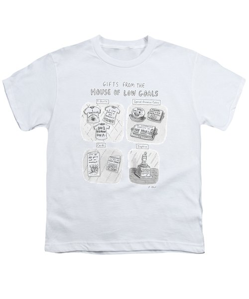 Gifts From The House Of Low Goals Youth T-Shirt