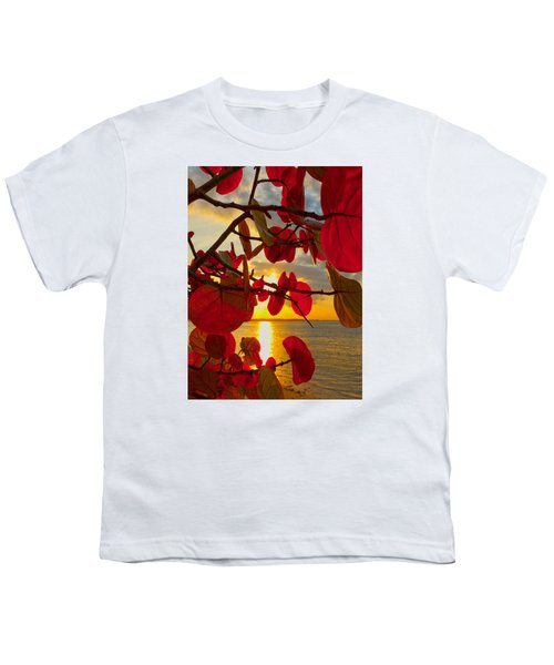 Glowing Red Youth T-Shirt