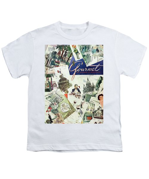 Gourmet Cover Illustration Of Drawings Portraying Youth T-Shirt