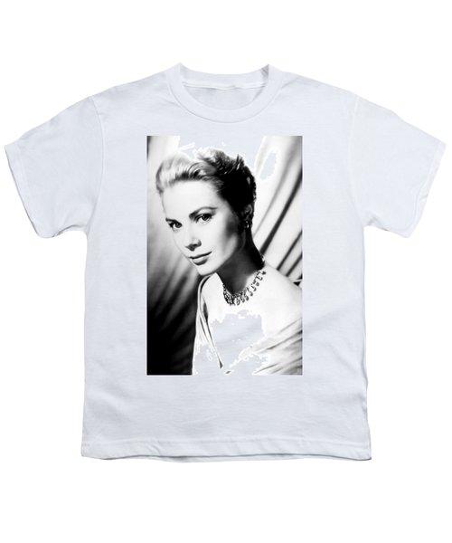 Grace Kelly Youth T-Shirt by Daniel Hagerman