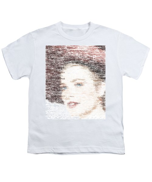 Grace Kelly Typo Youth T-Shirt