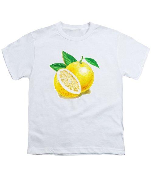 Happy Grapefruit- Irina Sztukowski Youth T-Shirt