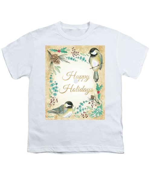 Holiday Wishes II Youth T-Shirt
