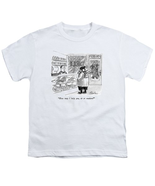How May I Help Youth T-Shirt