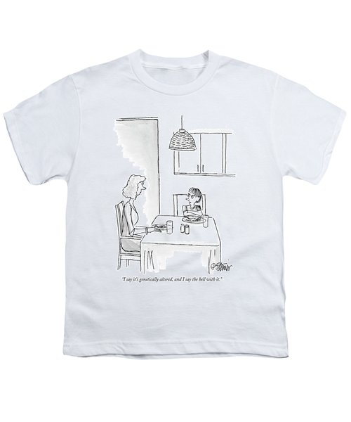 I Say It's Genetically Altered Youth T-Shirt by Peter Steiner