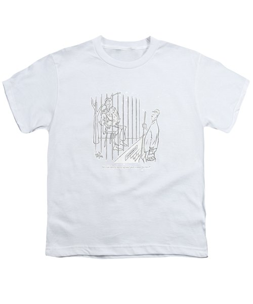 I Wish They'd Hurry Up And ?nd A Mate For Her Youth T-Shirt by George Price