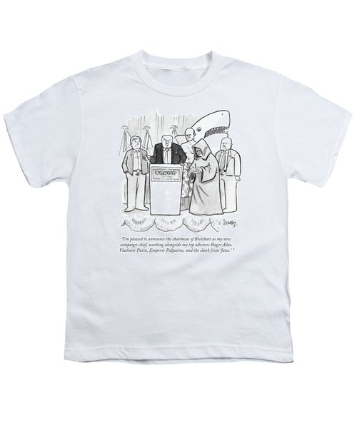 I'm Pleased To Announce The Chairman Of Breitbart Youth T-Shirt