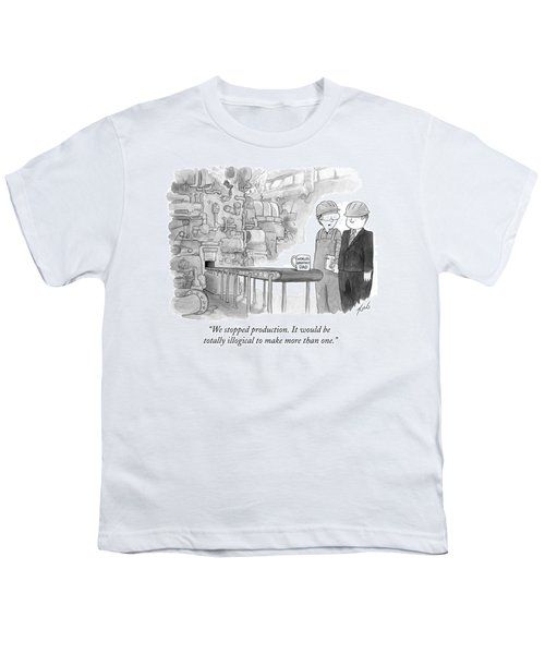 It Would Be Totally Illogical To Make More Than Youth T-Shirt