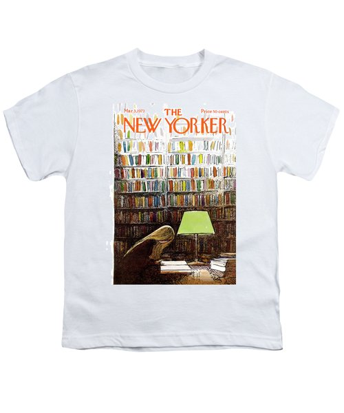 Late Night At The Library Youth T-Shirt