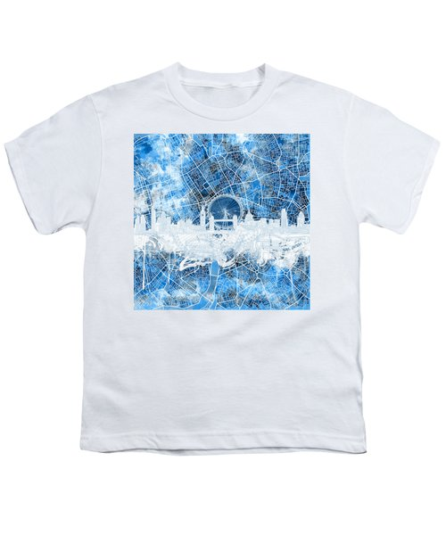 London Skyline Abstract 13 Youth T-Shirt