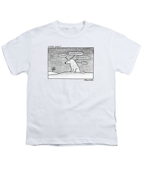 Lone Wolf: Youth T-Shirt